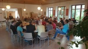 Flüchtlinge in der Kirchengemeinde Schöneberg